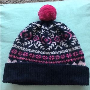 Vineyard Vines Mixed Media Printed Winter Hat